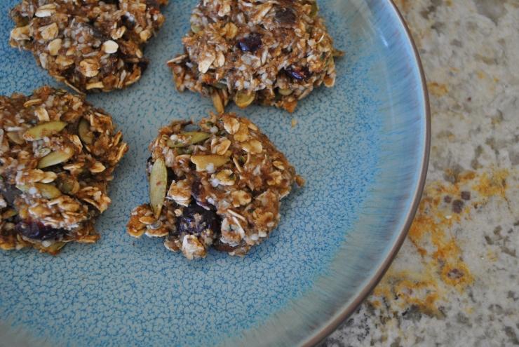 Plant Protein Powered Breakfast Cookies